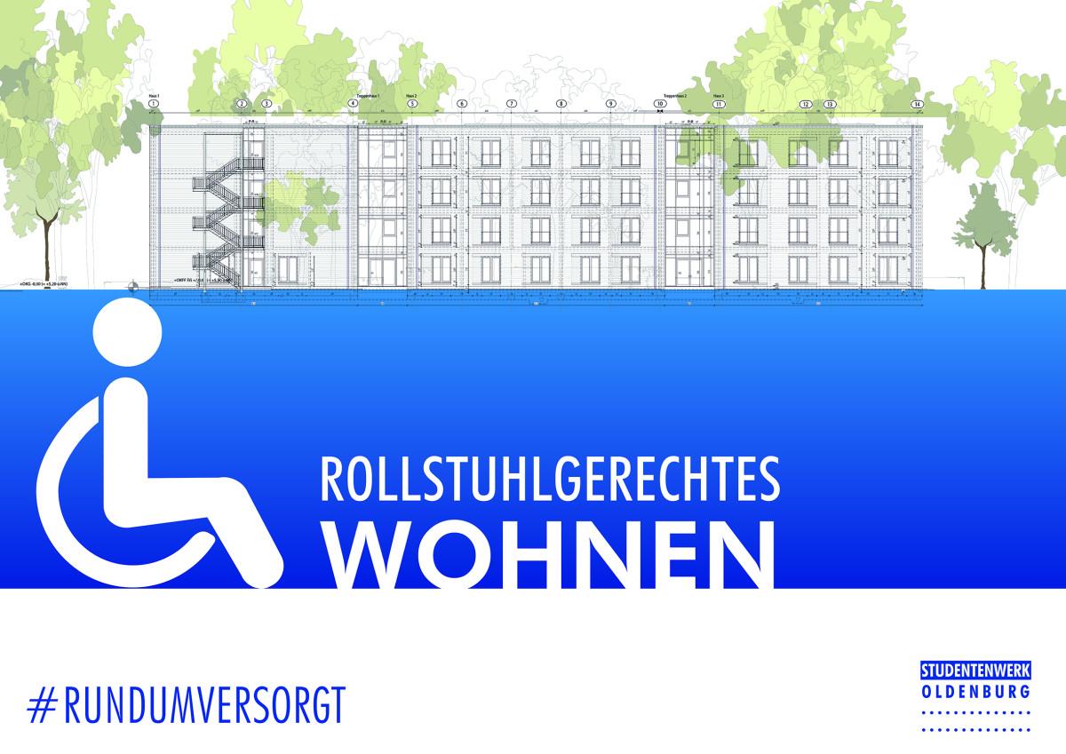 studentenwerk oldenburg noch freie pl tze rollstuhlgerecht wohnen in oldenburg. Black Bedroom Furniture Sets. Home Design Ideas